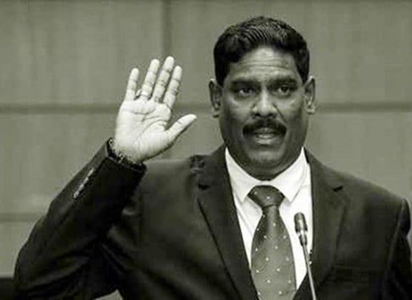 Indian Progressive Front president Sambanthan dies