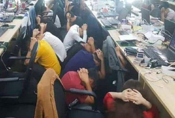Jenayah dalam talian: 152 warga China, seorang Bangladesh didakwa
