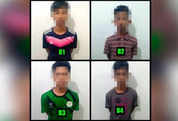 Empat remaja bawah umur ditahan kes rogol gadis OKU