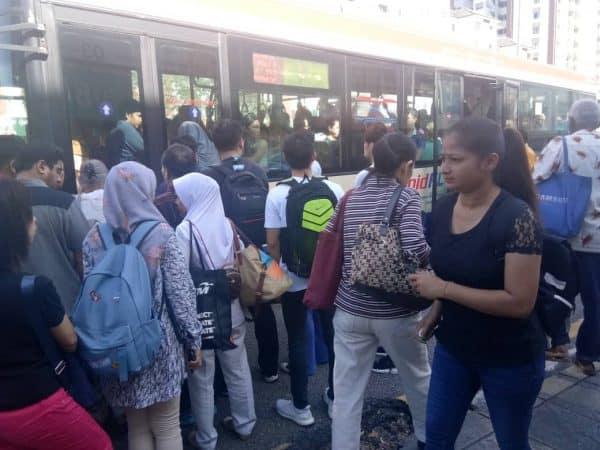 Derailed maintenance car brings Kelana Jaya LRT line to its knees