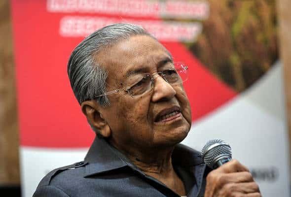 Tiada majoriti dua pertiga dalam Dewan, sukar kerajaan penuhi manifesto – Dr Mahathir