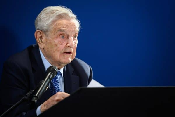 Soros pledges US$1b to battle 'would-be and actual dictators'