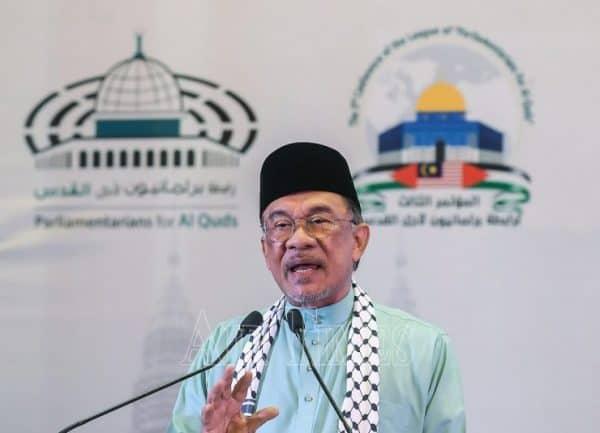 Perjuangkan isu Palestin dengan tindakan jelas – Anwar