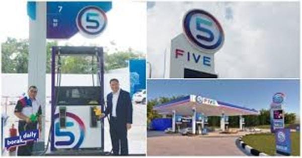 FIVE, jenama stesen minyak baharu