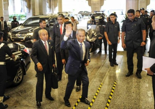 Muhyiddin clocks in as PM