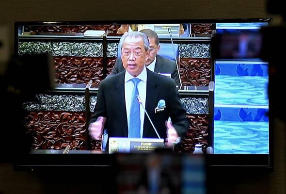 Parlimen: Muhyiddin kemuka usul pengosongan kerusi Yang Dipertua Dewan Rakyat