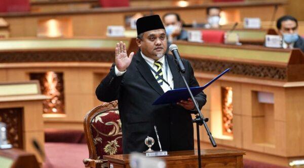 Mohd Zaidi angkat sumpah ADUN Slim